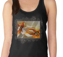 Split-cupped Narcissus named Trepolo Women's Tank Top