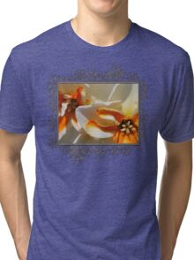 Split-cupped Narcissus named Trepolo Tri-blend T-Shirt