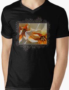 Split-cupped Narcissus named Trepolo Mens V-Neck T-Shirt