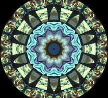 Paua Shell Kaleidoscope by fantasytripp
