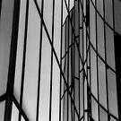 Steel and Glass , La Défense , Paris  by LynnEngland