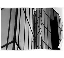 Steel and Glass , La Défense , Paris  Poster