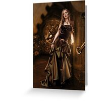 Taistealai Gal Punc Greeting Card