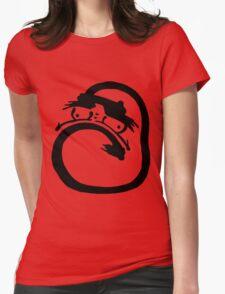 Daruma doll Womens Fitted T-Shirt