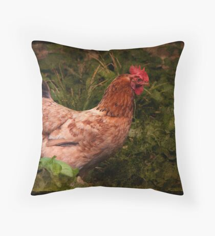 A Good Chook Throw Pillow