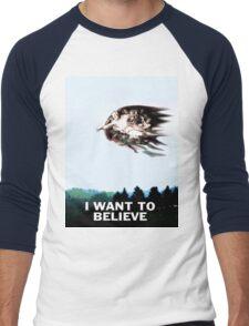 I want to believe...Richard Dawkins Men's Baseball ¾ T-Shirt