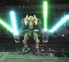 General Grievous Lego Star Wars by sbrosszell