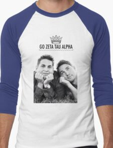 Go ZTA Men's Baseball ¾ T-Shirt