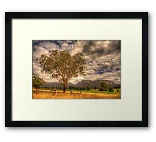 Sunburnt Country - The Capertee Valley, NSW Australia - The HDR Experience Framed Print