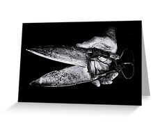 ...click go the shears... Greeting Card
