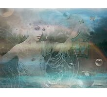 Whispering Wings of Water... and Things Photographic Print