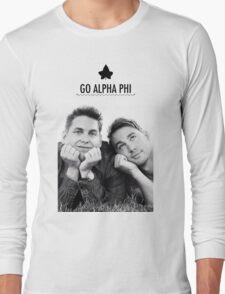 Go Alpha Phi Long Sleeve T-Shirt