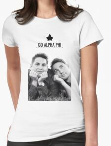 Go Alpha Phi Womens Fitted T-Shirt