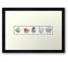 Little Birds Framed Print