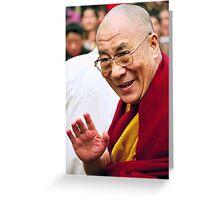 His Holiness the Dalai Lama. northern india Greeting Card