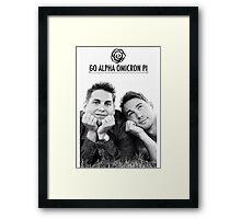 Go AOII Framed Print