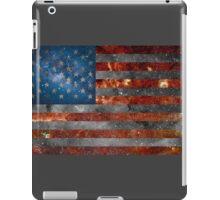 American Flag Galaxy iPad Case/Skin