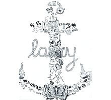 anchor larry Photographic Print