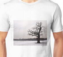 Winter Oak in Morden Park, London Unisex T-Shirt