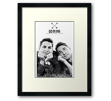 Go Pi Phi Framed Print