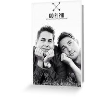 Go Pi Phi Greeting Card