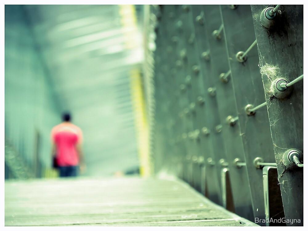 Leaving Southbank by BradAndGayna
