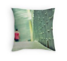 Leaving Southbank Throw Pillow