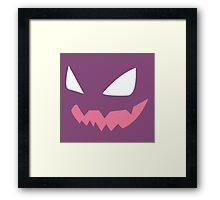 Haunter face Framed Print