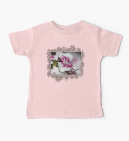 Sweet William from the Super Duplex Bluepoint Mix Baby Tee
