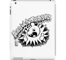 aaamazeballz! iPad Case/Skin