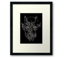 Demoni Framed Print