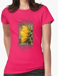 Sunflower from the Color Fashion Mix Womens Fitted T-Shirt