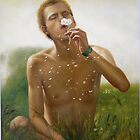 Original oil painting art -male nude by hongtao-art