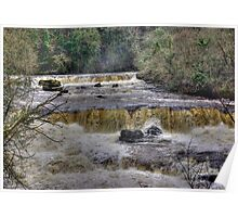 The Falls - River Ure Poster