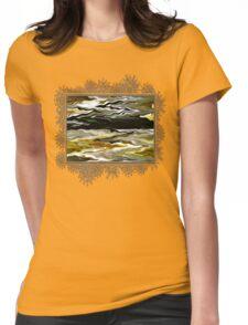 Marilene Staprilene Waves Womens Fitted T-Shirt