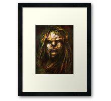 """Tomek Biniek """"Uruk-hai, Orc"""" Framed Print"""