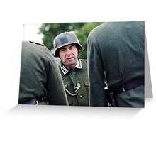 German WWII Soldiers Greeting Card