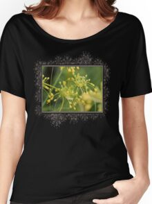 Allium Flavum or Yellow Fireworks Allium Women's Relaxed Fit T-Shirt