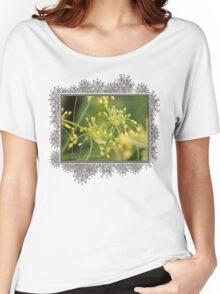 Allium Flavum or Yellow Fireworks Allium Women's Relaxed Fit T-Shirt