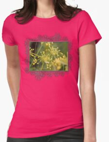 Allium Flavum or Yellow Fireworks Allium Womens Fitted T-Shirt