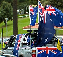 Aussie Pride and 4WD utes.........goes hand in hand really by Allen Gray