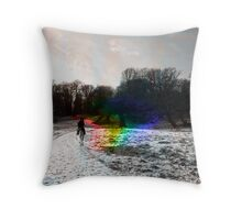 The light is Coming In Throw Pillow