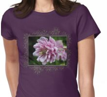 Double Columbine named Pink Tower Womens Fitted T-Shirt