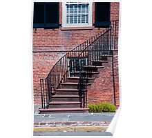 Savannah Stairs Poster
