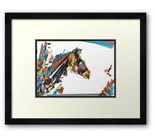 beygir (horse) Framed Print