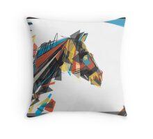 beygir (horse) Throw Pillow