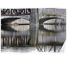 Allong the Lehigh River Poster