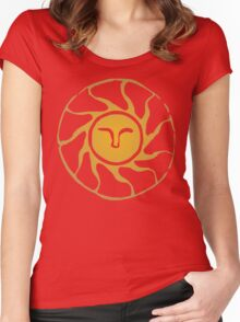 Praise the Sun Women's Fitted Scoop T-Shirt