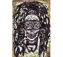 Goggle Skull Photographic Print