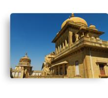 King's abode, Vijay Vilas Palace Canvas Print
